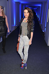 CHER LLOYD at a party hosted by Rimmel London to celebrate the 10 year partnership with Kate Moss held at Battersea Power Station, London SW8 on 15th September 2011.