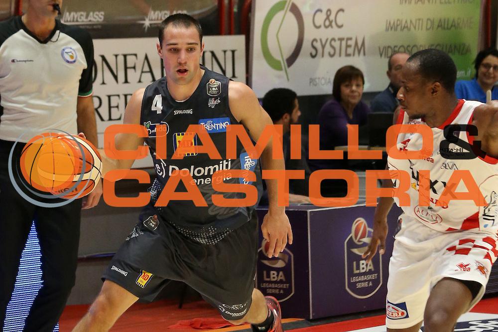Craft Aaron<br /> The Flexx Pistoia - Dolomiti Energia Trentino<br /> Lega Basket Serie A 2016/2017<br /> Pistoia 20/11/2016<br /> Foto Ciamillo-Castoria