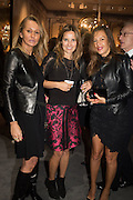 ANNA M. DZIERWA; ROXANNA GURYSEK-GEDIR; CLAUDIA BERGMAN, The preview of LAPADA Art and Antiques Fair. Berkeley Sq. London. 21 September 2015.