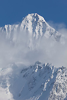 WA09043-00...WASHINGTON - Winter view of Mount Shuksan from Heather Meadows Recreation Area.