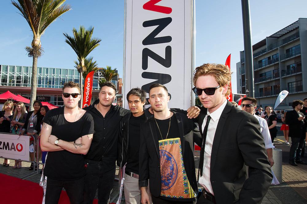 Vodafone NZ Music Awards 2012. Red Carpet Arrivals. 1 November 2012