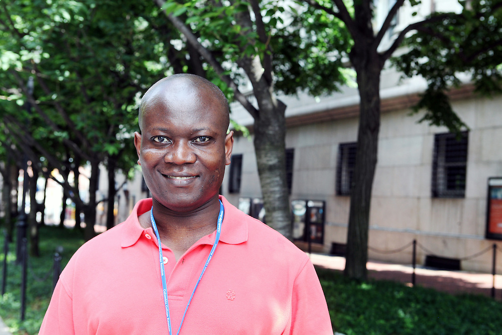 "Evans Kissi '91, Public Health '08..""Pace yourself. Do your homework and then take time to explore the world around you."""
