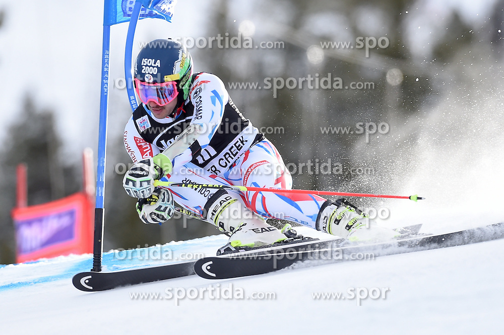 06.12.2015, Birds of Prey Course, Beaver Creek, USA, FIS Weltcup Ski Alpin, Beaver Creek, Riesenslalom, Herren, 1. Lauf, im Bild Mathieu Faivre (FRA) // Mathieu Faivre of France during the first run of mens Giant Slalom of the Beaver Creek FIS Ski Alpine World Cup at the Birds of Prey Course in Beaver Creek, United States on 2015/12/06. EXPA Pictures © 2015, PhotoCredit: EXPA/ Erich Spiess