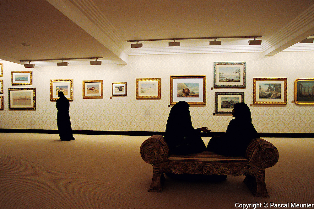 QATAR. Doha. Private orientalist museum...The private orientalist museum, under the management of Qatar, holds some 700 works, having belonged to the collection of Sheik Hassan Al Thani, cousin of the Emir. You can see paintings by Cordier, Delacroix, Girardet, Fromentin?