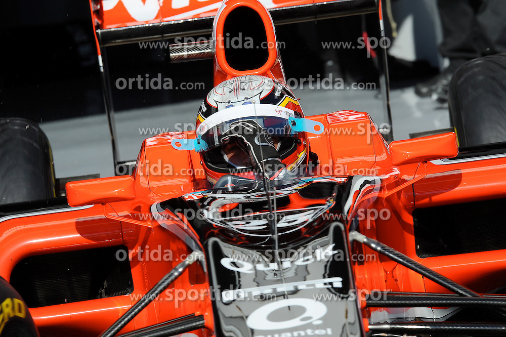 18.02.2011, Circuit de Catalunya, Barcelona, ESP, Formel 1 Test 3 2011,  im Bild Jerome De Ambrosio (BEL) Marussia Virgin Racing Team EXPA Pictures © 2011, PhotoCredit: EXPA/ nph/  Dieter Mathis       ****** out of GER / SWE / CRO  / BEL ******