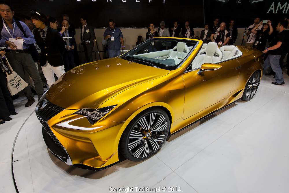 The 2014 Los Angeles Auto Show at the Los Angeles Convention Center.<br /> The Lexus LF-C2 concept vehicle.