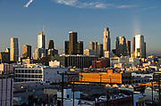 Los Angeles City Skyline
