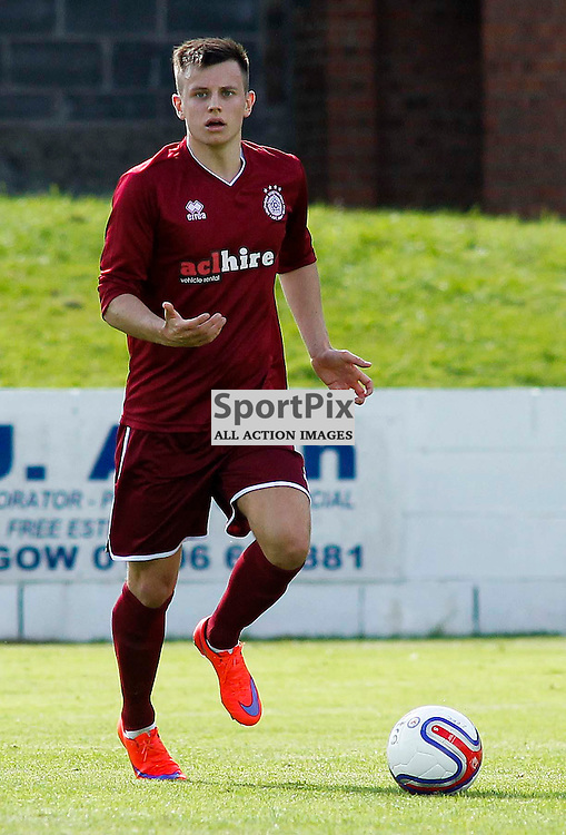 Ryan Baptie<br /> in action for Linlithgow Rose who made history when they became the first junior club to reach the Scottish Cup 5th round when they beat Forfar Athletic 1-0 on 26th January 2016<br /> (c) Andrew West | SportPix.org.uk