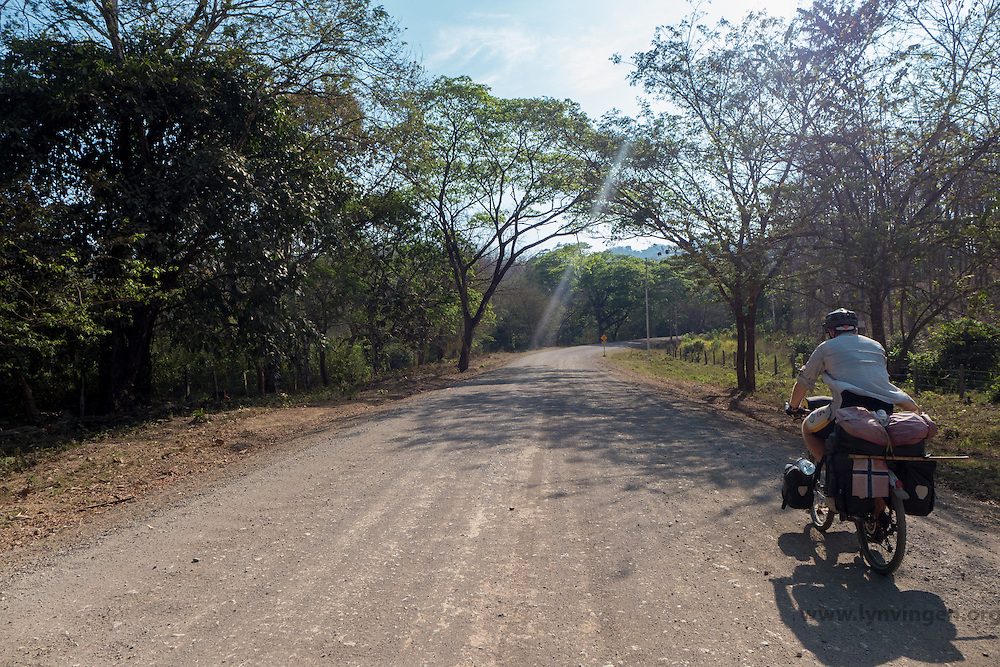 Bike touring in Cost Rica