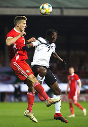 WREXHAM, WALES - Wednesday, March 20, 2019: Wales' Will Vaulks during an international friendly match between Wales and Trinidad and Tobago at the Racecourse Ground. (Pic by Laura Malkin/Propaganda)