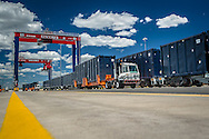 GCT New York Staten Island NYC Railyard operations with New RTGs