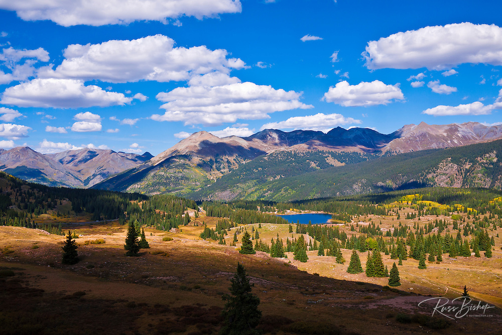The view from Molas Pass, San Juan Skyway (Highway 550), San Juan National Forest, Colorado
