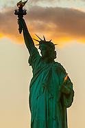 USA-New York City-Statue of Liberty & Ellis Island