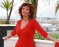 Sophia Loren at the 67th Cannes Film Festival, Wednesday 21st  May 2014, Cannes, France.