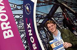 30-10-2015 USA: NYC Marathon We Run 2 Change Diabetes day 2, New York<br /> Na Expo met de groep op de fiets NY verkennen / Expo hal, inschrijving, Thomas