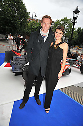 DAMIAN LEWIS and HELEN McCRORY at the F1 Party in aid of the Great Ormond Street Hospital Children's Charity held at the V&A, Londonon 17th June 2009.