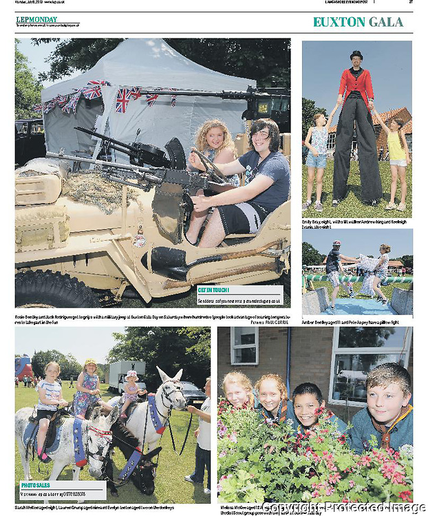 Euxton Gala day in Lancashire.<br />