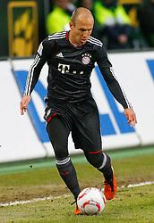 15.01.2010, Volkswagen Arena, Wolfsburg, GER, 1.FBL, VfL Wolfsburg vs FC Bayern Muenchen, im Bild Arjen Robben (Muenchen #10).EXPA Pictures © 2011, PhotoCredit: EXPA/ nph/  Schrader       ****** out of GER / SWE / CRO ******