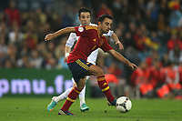 FOOTBALL - FIFA WORLD CUP 2014 - QUALIFYING - SPAIN v FRANCE - 16/10/2012 - PHOTO MANUEL BLONDEAU / AOP PRESS / DPPI -  XAVI HERNANDEZ