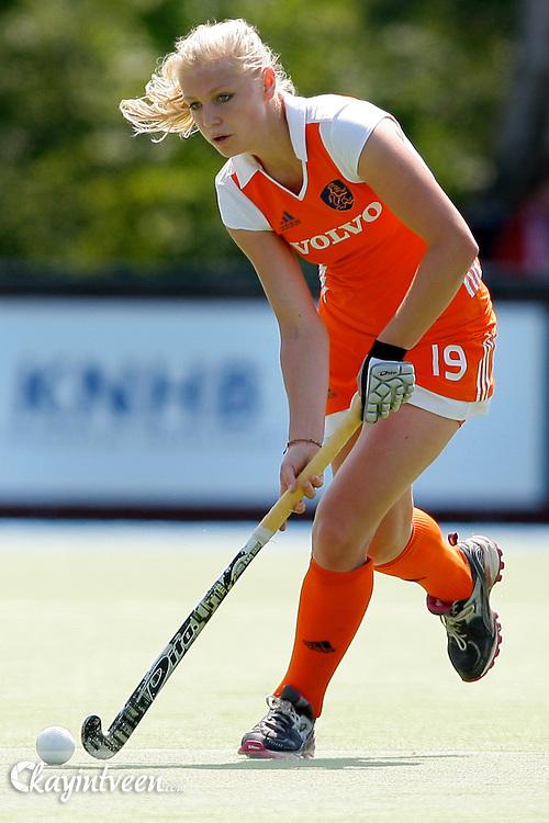 UTRECHT - Nederland - Schotland EK U18, Eurohockey landen kampioenschap onder 18, 15-07-2011, Lisanne de Lange