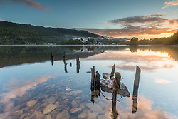 Loch Tay taken from Taymouth Marina near to Kenmore, a small village in Perthshire in the Highlands of Scotland