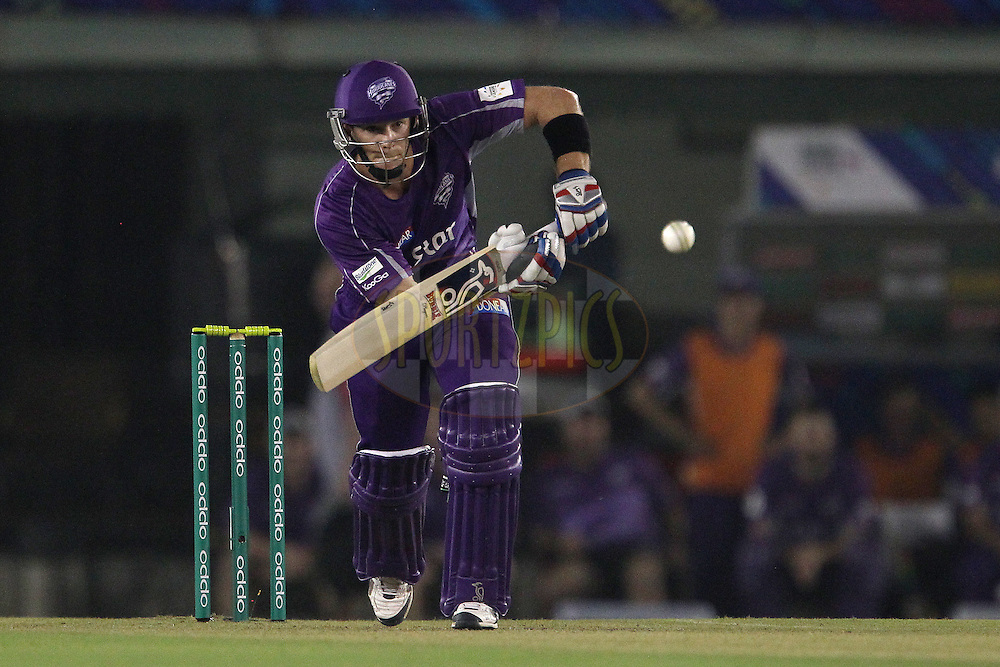 Tim PAINE (Captain) of the Hobart Hurricanes  during match 2 of the Oppo Champions League Twenty20 between the Kings XI Punjab and the Hobart Hurricanes held at the Punjab Cricket Association Stadium, Mohali, India on the 18th September 2014<br /> <br /> Photo by:  Ron Gaunt / Sportzpics/ CLT20<br /> <br /> <br /> Image use is subject to the terms and conditions as laid out by the BCCI/ CLT20.  The terms and conditions can be downloaded here:<br /> <br /> http://sportzpics.photoshelter.com/gallery/CLT20-Image-Terms-and-Conditions-2014/G0000IfNJn535VPU/C0000QhhKadWcjYs