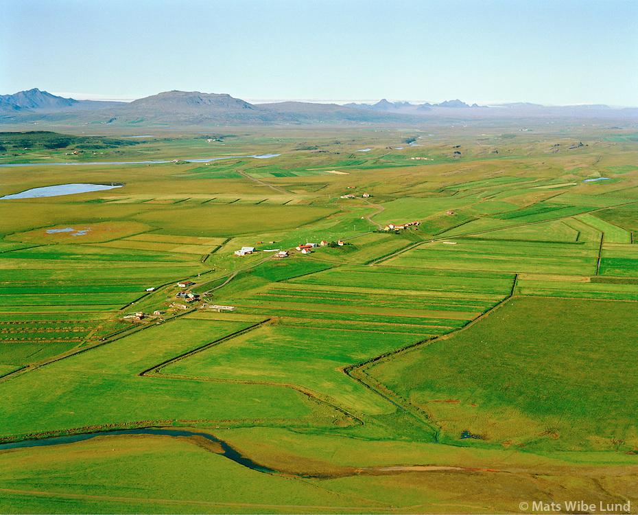 Bræðratunga séð til norðurs, Bláskógabyggð áður Biskupstungnahreppur /  Braedratunga viewing north, Blaskogabyggd former Biskupstungnahreppur