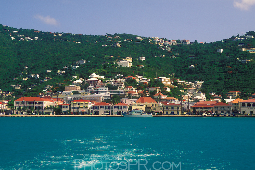 View of Charlotte-Amalie from the water
