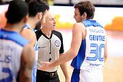 DESCRIZIONE : Cantu' Lega A 2014-2015 Acqua Vitasnella Cantu' Banco di Sardegna Sassari<br /> GIOCATORE : Stefano Gentile Paolo Taurino<br /> CATEGORIA : Arbitro delusione<br /> SQUADRA : Acqua Vitasnella Cantu' Arbitro<br /> EVENTO : Campionato Lega A 2014-2015<br /> GARA : Acqua Vitasnella Cantu' Banco di Sardegna Sassari<br /> DATA : 09/11/2014<br /> SPORT : Pallacanestro<br /> AUTORE : Agenzia Ciamillo-Castoria/Max.Ceretti<br /> GALLERIA : Lega Basket A 2014-2015<br /> FOTONOTIZIA : Cantu' Lega A 2014-2015 Acqua Vitasnella Cantu' Banco di Sardegna Sassari<br /> PREDEFINITA :