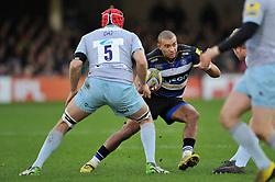 Jonathan Joseph of Bath Rugby - Mandatory byline: Patrick Khachfe/JMP - 07966 386802 - 05/12/2015 - RUGBY UNION - The Recreation Ground - Bath, England - Bath Rugby v Northampton Saints - Aviva Premiership.