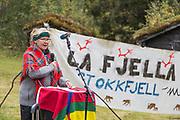 Nora Marie Bransfjell (født 1955) en norsk, samisk politiker som representerer Norske Samers Riksforbund (NSR) fra Sørsamisk valgkrets.