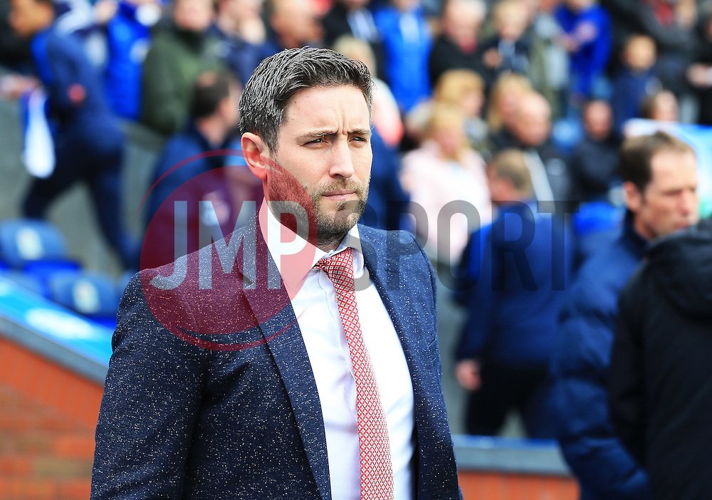 Lee Johnson head coach of Bristol City  - Mandatory by-line: Matt McNulty/JMP - 23/04/2016 - FOOTBALL - Ewood Park - Blackburn, England - Blackburn Rovers v Bristol City - Sky Bet Championship