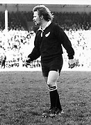 All Black Grant Batty during the NZ President's XV (35) v All Blacks (28) on 4 August 1973 at Wellington, New Zealand.<br /> Copyright photo: Ron Cooke / www.photosport.nz