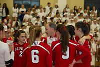 St Paul's School varsity volleyball  ©2018 Karen Bobotas Photographer