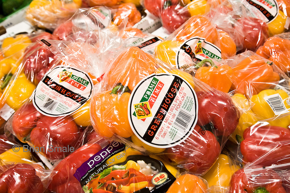 Prime Time Peppers, sold by Costco Wholesale.  Photographed by Brian Smale in Seattle, for BusinessWeek Magazine.
