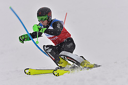 BUGAEV Aleksei LW6/8-2 NPA at 2018 World Para Alpine Skiing World Cup slalom, Veysonnaz, Switzerland