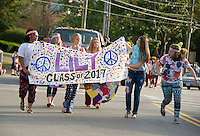LHS Homecoming Parade.  Karen Bobotas for the Laconia Daily Sun