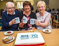 CNO meets ex-nurses ahead of NHS 70th anniversary, Edinburgh, 21 June 2018