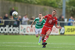 RHOSYMEDRE, WALES - Sunday, May 5, 2019: Connah's Quay Nomads's Danny Harrison during the FAW JD Welsh Cup Final between Connah's Quay Nomads FC and The New Saints FC at The Rock. (Pic by David Rawcliffe/Propaganda)