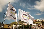 Melfi, Basilicata, Italia, 21/05/2016<br /> Alcuni momenti del comizio elettorale del Movimento 5 Stelle a Melfii.<br /> <br /> Melfi, Basilicata, Italia, 21/05/2016<br /> Some moments of the electoral meeting of Five Stars Movement in Melfi, in southern Italy.