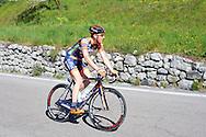 39° Giro del Trentino Melinda, 2 tappa Dro-Brentonico,Yuri Filosi 22 Aaprile 2015  © foto Daniele Mosna