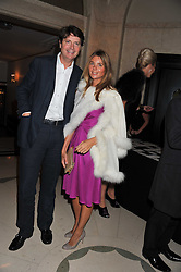 DR MARK & KATE CECIL at the Maggie's Autumn Summer Party held at Claridge's, Brook Street, London on 12th October 2011.