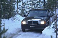 Ål 180103 - Rally NM åpning i Hallingdal - Ronny Andersen og Ole Jacobsen NMK Nore og Uvdal havnet på andreplass i Nasjonal klasse.<br /> Foto: Birger Henriksen, Digitalsport
