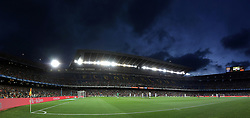 August 7, 2017 - Barcelona, Spain - Genaral view of the Camp Nou stadium during the 2017 Joan Gamper Trophy football match between FC Barcelona and Chapecoense on August 7, 2017 at Camp Nou stadium in Barcelona, Spain. (Credit Image: © Manuel Blondeau via ZUMA Wire)