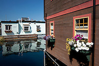 Fisherman's Wharf Houseboats, Victoria, BC
