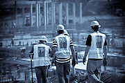 Construction Men On The Job Site