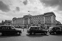 Black Cabs Buckingham Palace London