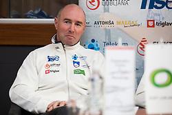 at press conference of Kajakaska Zveza Slovenije before season 2018, on March 15, 2018 in Ljubljana, Slovenia. Photo by Urban Urbanc / Sportida