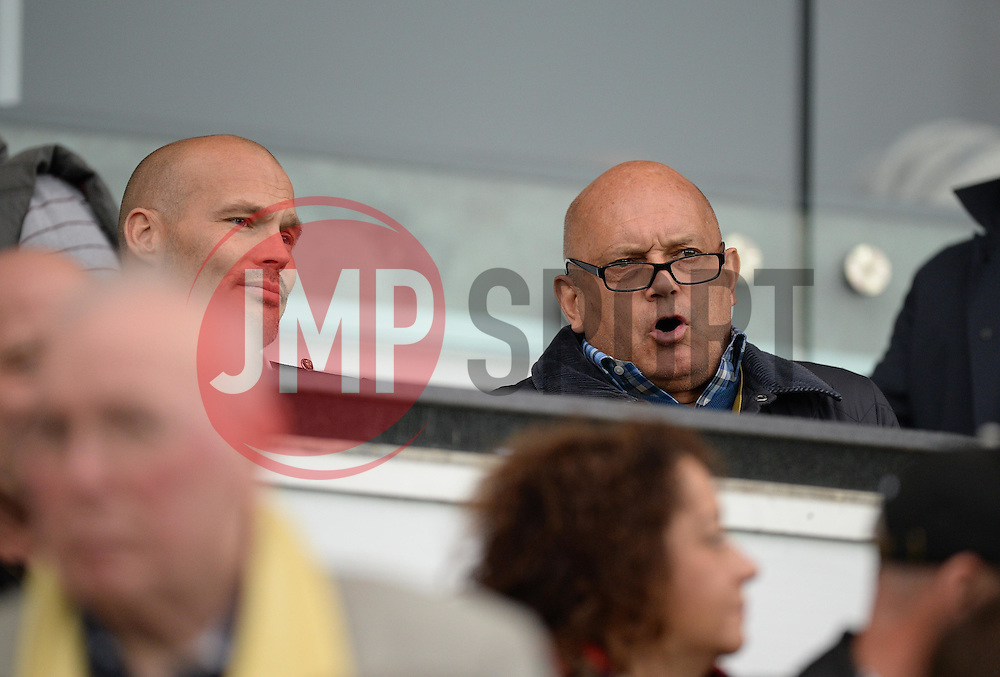 (Right) Ray Wilkins watches on at the Liberty stadium - Mandatory byline: Alex James/JMP - 07966 386802 - 04/10/2015 - FOOTBALL - Liberty stadium - Swansea, England - Swansea City  v Tottenham hotspur - Barclays Premier League