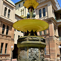 Sydney Hospital&rsquo;s  Nightingale Wing Fountain in Sydney, Australia<br />